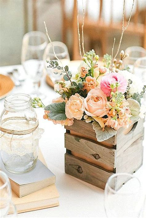 diy wedding centerpieces vintage shabby chic vintage wedding decor ideas entertaining