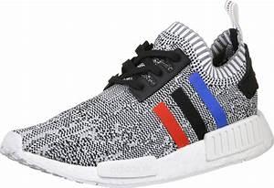 adidas NMD R1 PK Schuhe weiß rot schwarz
