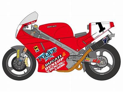 Ducati Tamiya Decals Superbike Racer 1992 Hiroboy