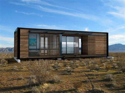 Compact House Made From Affordable Materials by Antique Dwell Antique Dwell Prefab Homes Prefab House