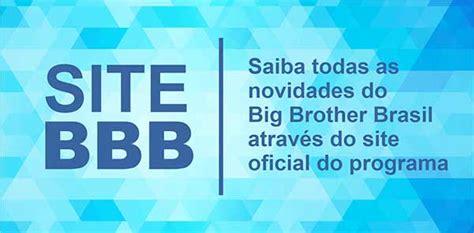 Site oficial BBB21 no Gshow - gshow.com/bbb