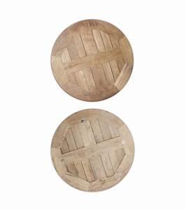 Tischplatte Rund 120 Cm : tischplatte teak rund 60 cm ~ Markanthonyermac.com Haus und Dekorationen