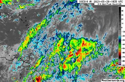 Tropical Wave Showers 92l Weak Monitoring Invest