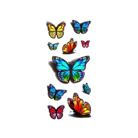 tatouage papillon tatouage ephemere papillon faux
