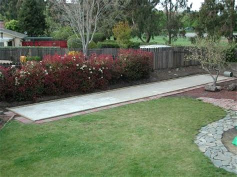 backyard bocce court dimensions right in your own back yard archives its all about the
