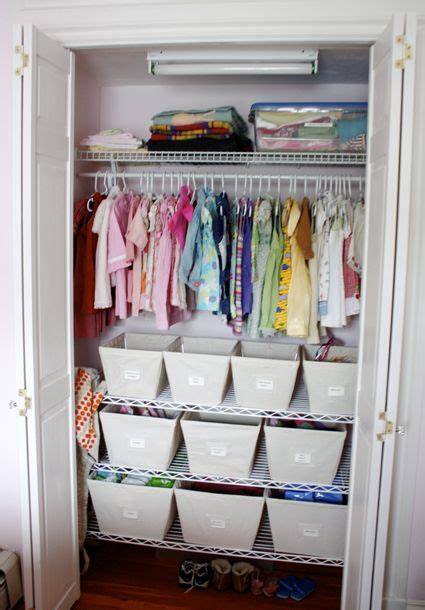 Small Baby Closet Organization Ideas by Small Closet Organization Idea Crafty