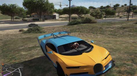 Bugatti chiron 2017 v1.2 for gta 5 game. Grand Theft Auto V CAR MOD BUGATTI CHIRON - YouTube
