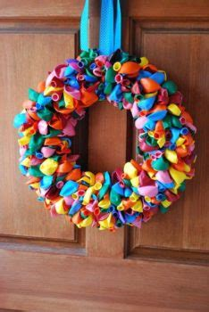 balloon wreaths    create easily inhabit zone