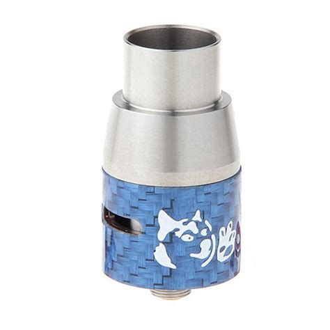 doge  style mm rda rebuildable dripping atomizer blue