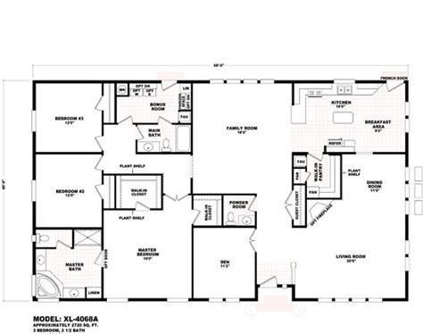 fleetwood mobile home floor plans  prices durango homes xl xl  cavco mobile