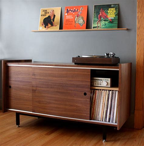 vinyl record cabinet cool vinyl record storage ideas home tweaks