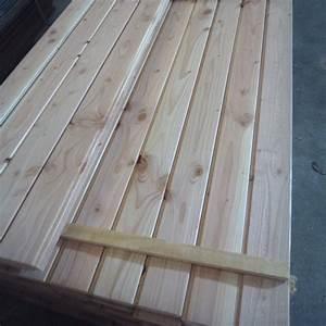 Poteau Bois Rond 3m : lambris lame volet douglas naturel 16x116mm d class ~ Voncanada.com Idées de Décoration