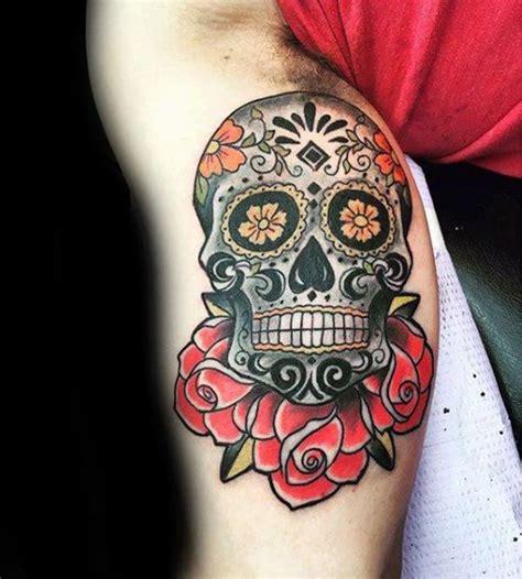 sugar skull tattoo designs  meaning wild tattoo art