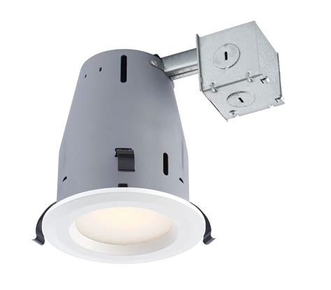 commercial electric 5 inch recessed lighting commercial electric recessed led white kit 4 pack 4 inch