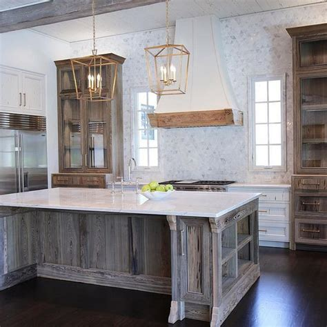 barnwood kitchen island reclaimed wood kitchen wood kitchen island and woods on 1488