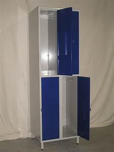 Casier De Vestiaire : demi casier vestiaire 2 colonnes 4 casiers ~ Edinachiropracticcenter.com Idées de Décoration