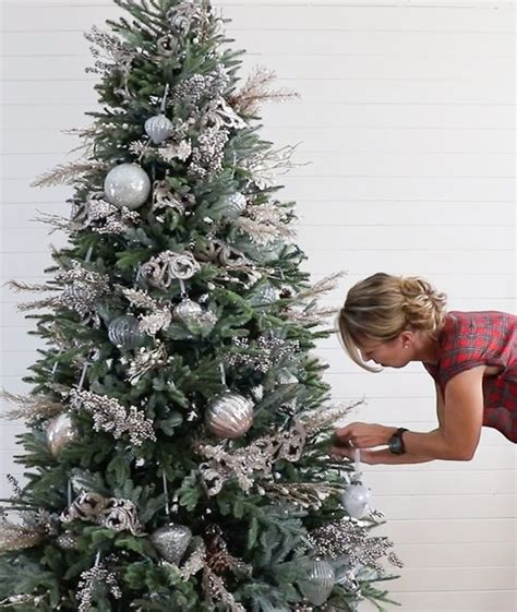decorating  christmas tree  balsam hill sincerely