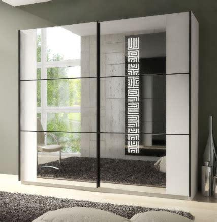 White Mirrored Wardrobe by Sliding Large Mirrored Wardrobe White P8ssok02