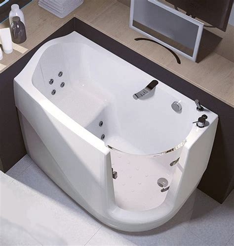 Sit Down Shower Stall by Walk In Tubs Compact Sit Down Tub By Treesse