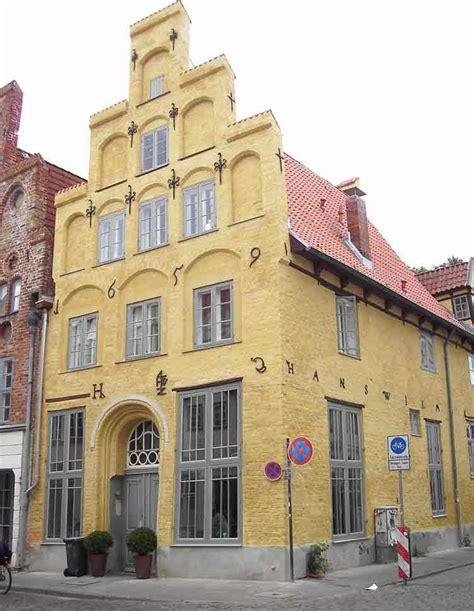 Giebel Haus Giebelhaus Lübecker Wandmalerei