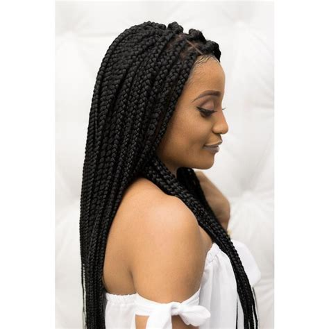 medium wig bob quot adaobi quot frontal box braids unit elise braids