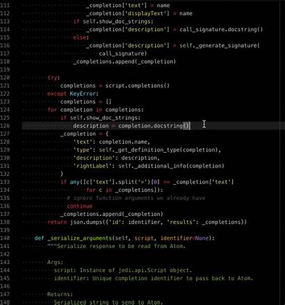 Python Atom Ide Io Packages Setting Guide