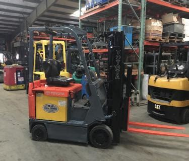 toyota lb electric forklift industrial
