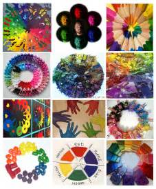 Color Wheel Art Ideas