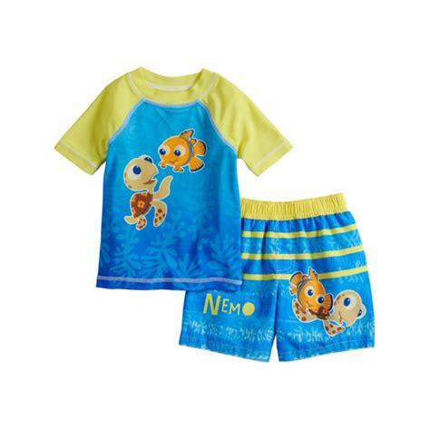 Disney - Disney Infant Boys Blue Finding Nemo Turtle Rash ...