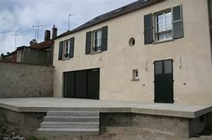 nivremcom construction terrasse bois en hauteur With terrasse en hauteur beton