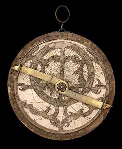 11. Astrolabe by Georg Hartmann (wood and paper ...