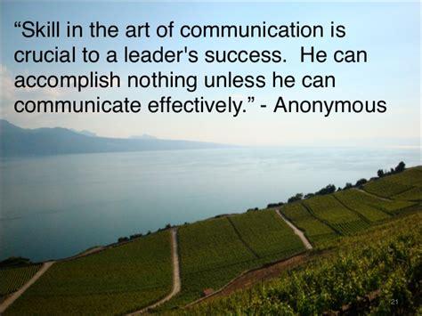 communication habits   successful leaders