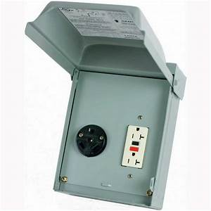Midwest U041010 Unmetered Power Outlet  30 Amp  120  240