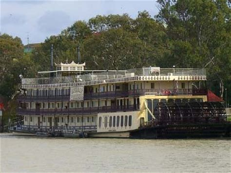 Steamboat Adelaide by Murray River Tour Riverboats On The Murray Gray Line