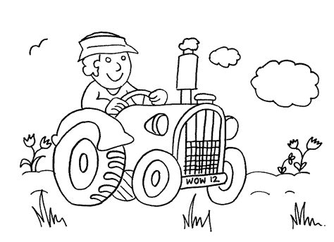 preschool farm coloring pages coloring home 452 | pi5dg9zrT