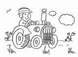 Coloring Pages Farm Macdonald Tractor Preschool Farmer Mcdonald Had Sheet Farmyard Driving Preschoolers Printable Coloringhome Popular Cartoon Animal sketch template