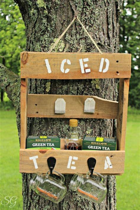 super easy cheap diy outdoor bar ideas