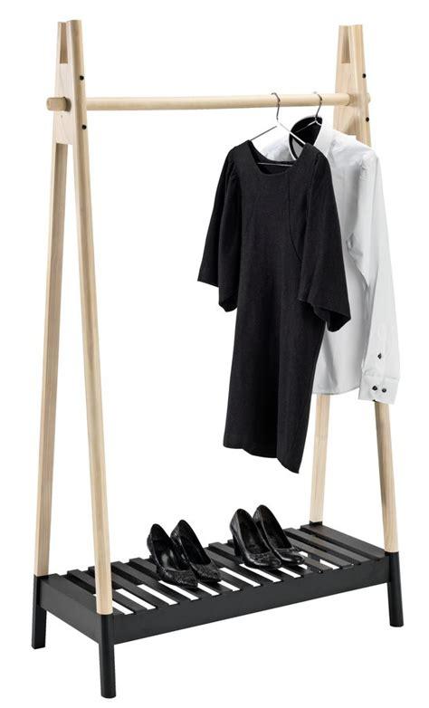 clothes rail jennet naturalblack jysk