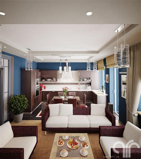 Кухнягостиная в загородном доме  заметки дизайнера