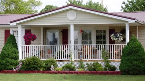 Front Porch Ideas For Homes by Audio Program Affordable Porches For Mobile Homes