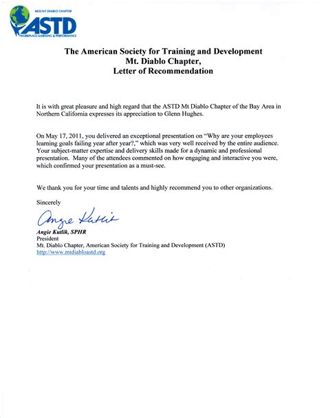 Letter Of Recommendation by Letter Of Recommendation Imagexxl