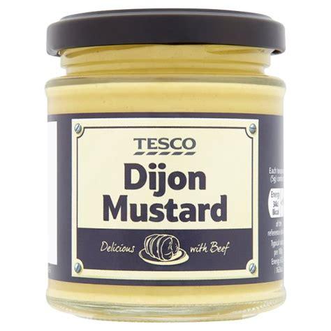 dijon mustard tesco dijon mustard 185g groceries tesco groceries