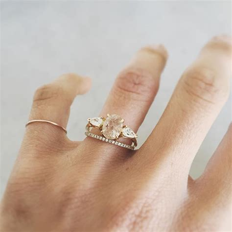 how are engagement and wedding rings worn natalie marie jewellery engagement wedding rings for
