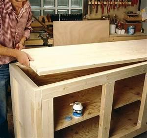 Fabriquer Meuble Bois : comment fabriquer un meuble de rangement en bois fabrication bois pinterest comment ~ Voncanada.com Idées de Décoration
