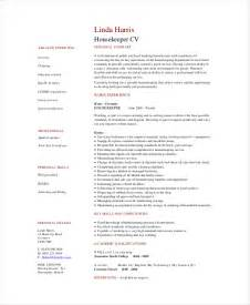 sle resume housekeeping hospital housekeeping resume template 4 free word pdf documents
