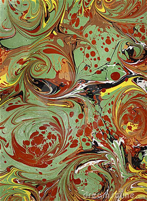 renaissancevictorian marbled paper  royalty  stock