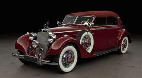 Many ford model t's and models a's were on display. 1938 Mercedes-Benz 320d 4-Door Cabriolet | Oldtimer, Fahrzeuge und Oldtimer autos