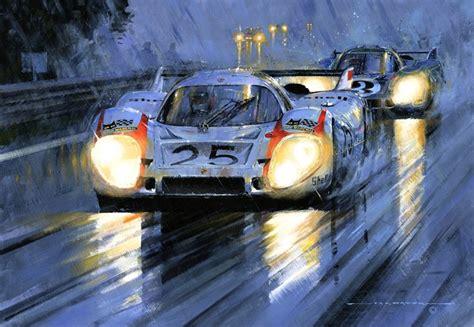 porsche 917 art le mans 1970 porsche 917 art by nicholas watts racing