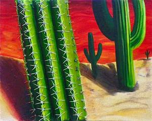 The Cucumber Cacti In The Painted Desert Of My Mind ...