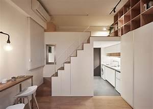 Micro apartment maximizes its tiny footprint